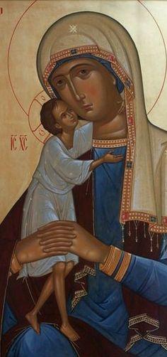 Christian Art, Religious Art, Ikon, Madonna, Mary, Princess Zelda, Faith, Pictures, Fictional Characters