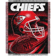 "AAA Sports Memorabilia LLC - Kansas City Chiefs NFL Triple Woven Jacquard Throw (Spiral Series) (48x60"")"", $40.00 (http://www.aaasportsmemorabilia.com/kansas-city-chiefs-nfl-triple-woven-jacquard-throw-spiral-series-48x60/)"
