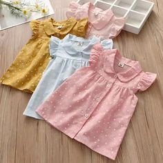 c523627f601 2018 Verão Nova Gola Boneca Criança Camisas Do Bebê mangas Voando rendas  Camisa Das Meninas Tops
