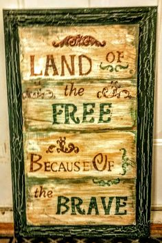 Handmade patriotic sign, asking $20. If interested please email me at rusticdecorstore84@gmail.com