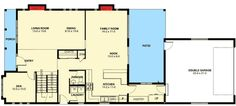 Plan W6796MG: Narrow Lot, Northwest, Canadian House Plans & Home Designs