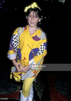 Actress Soleil Moon Frye attends the 'Jerry Lewis Muscular Dystrophy Telethon' on September 1, 1986 at Caesars Palace in Las Vegas, Nevada.