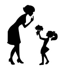 Risultati immagini per mother and daughter silhouette Black N White Images, Black And White, Silhouette Cameo, Mother Daughter Art, Moss Decor, Mothers D, Bookcase Organization, Picture Quotes, Illustration