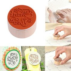 Online Shop Venda quente caligrafia abençoar rodada carimbos de borracha de madeira Floral escolher palavras OSS-0139|Aliexpress Mobile