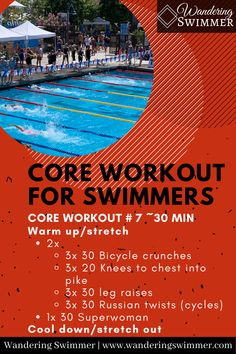 Swimmers Workout Dryland, Pool Workout, Best Cardio Workout, Hard Workout, At Home Workout Plan, Best Swimming Workouts, Dry Land Swim Workouts, Workouts For Swimmers, Fun Workouts