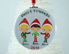 Items similar to Sisters Ornament , Christmas Ornament, Sister Gift, Holiday Ornament for Sister, Personalized Sister Gift, Keepsake Ornament, Personalized on Etsy