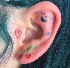 Cute Tattoos for Girls Lovely Designs with Meaning - Page 30 of 42 - Tattoo Ideas Mini Tattoos, Cute Girl Tattoos, Pretty Tattoos, Unique Tattoos, Body Art Tattoos, Tattoos For Guys, Sleeve Tattoos, Cool Tattoos, Tatoos