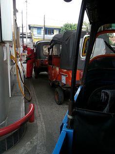 Refuel during bajai ride