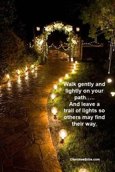 Follow the Karmic Path-Click Picture To Read Article