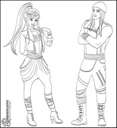 coloring pages disney channel characters - photo#18