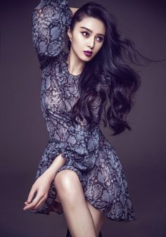 World Country Magazines: Fan Bingbing by Chen Man for Marie Claire Magazine…