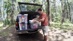Car camping trips are one of our favorite ways to enjoy the outdoors without sacrificing comfort. Columnist Bryan Rogala takes us through the essential gear you need for any trunk-based adventure. Family Tent, Family Camping, Tent Camping, Camping Checklist, Camping Hacks, Apocalypse Survival Kit, Solar Powered Lanterns, Camping For Beginners, Solar Installation
