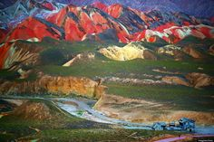 These stunning Rainbow Mountains are a very real place | Road Trip - Discover Your America with Roadtrippers