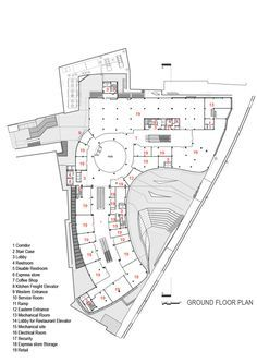 Gallery of arg shopping mall / arsh studio - 25 retail architecture, architecture plan Shopping Mall Architecture, Retail Architecture, Plans Architecture, Commercial Architecture, Shopping Mall Interior, Theatre Architecture, The Plan, How To Plan, Commercial Complex