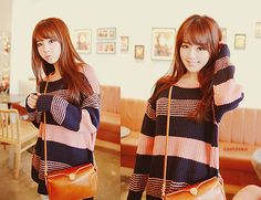 Cute Korean fashion. #asianfashion
