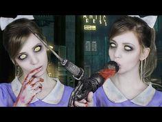 ☆ Bioshock Little Sister Makeup Cosplay Tutorial ☆
