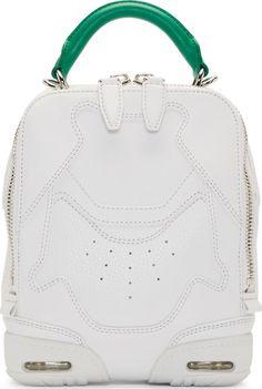 Alexander Wang: White Small Sneaker Shoulder Bag