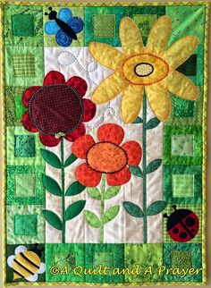 A Quilt and A Prayer: May Flowers