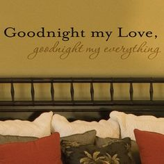 I Love Love Love Love these wall decal quote thingys!!!!! (cough wedding gift cough ;)