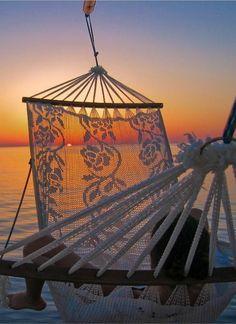 Sea thru hammock...