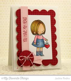 Fine Check Background, Swiss Dots Background, You Have My Heart, Blueprints 1 Die-namics - Jackie Pedro #mftstamps