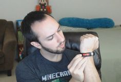 Minecraft Gameband Unboxing by SethBling