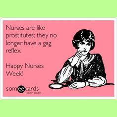 Happy Nurses Week! Nurse humor