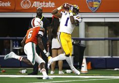 25 LSU off and running with win over No. Lsu Tigers Football, Joe Burrow, Game Start, Sports News, Victorious, Miami, Arlington Texas, Sunday Night, Running