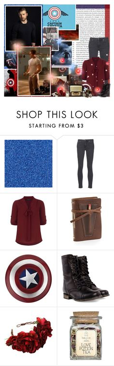"""Team Cap: Steve Rogers"" by skyfalll ❤ liked on Polyvore featuring Oris, Acne Studios, Dorothy Perkins, Rustico, Disguise, Steve Madden and Rock 'N Rose"