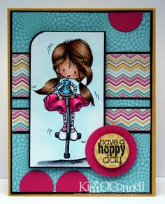 """Paper Perfect Designs by Kim O'Connell: Tiddly Inks """"Hopping By"""" clear stamp set"""