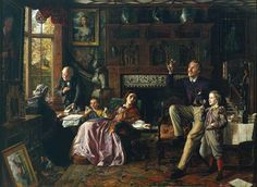 The Last Day in the Old Home 1862. Robert Braithwaite Martineau (1826–1869)
