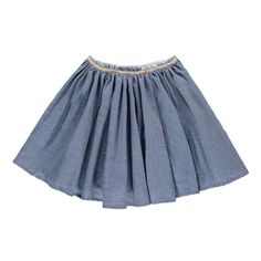 Hundred Pieces Jupe Chambray-product