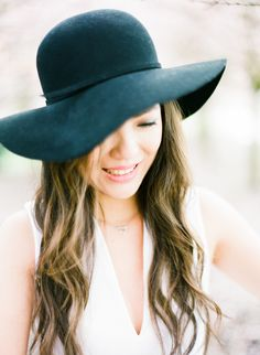 When all else fails, call it hat day! http://www.stylemepretty.com/living/2016/04/05/second-day-hair/