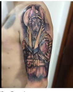 Anubis #anubis #egito #tattoo #lincoln