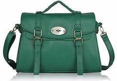 Large Womens Designer Leather Style Satchel Bags Shoulder Office Laptop Handbags | eBay