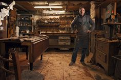 Man, I would love to have a woodworking shop so much! Such a great photo ~ Modern portraits of old craftsmanship by alessandro venier, via Behance
