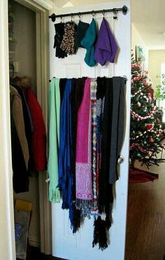 Idea For A Scarf Holder