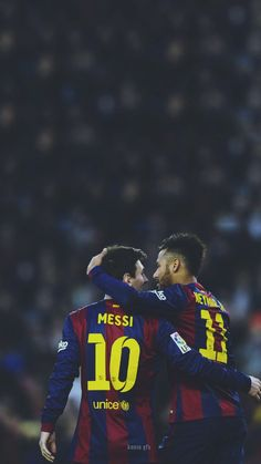 Messi Y Neymar, Messi 2015, Neymar Pic, Lionel Messi Barcelona, Barcelona Football, Camp Nou, Messi Photos, Leo, Sports