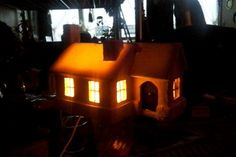 Mon cottage en cours de réalisation...