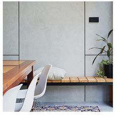 @cemintel: We keep our Barestone minimalist and restrained in appearance so that you can bring it to life, just like @alexandrabuchananarchitecture have done by using our prefinished panel as the backdrop, and enhancing the space with warm tones and textures. The result? A clean, modern yet welcoming look.