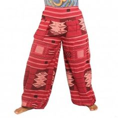 pantalones tradicionales de Tailandia