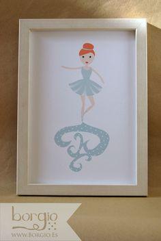 Anika, Bailarina Disponible en: http://www.borgio.es/laminas-infantiles/
