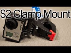 DIY $2 Clamp Mount: GoPro Tips and Ticks - YouTube