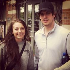 CROSBY EH - forwhoiiam: me and Sidney Crosby the other day...