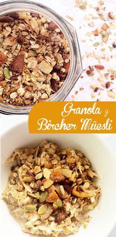 Paladares {Sabores de nati }: Granola & Bircher-Muesli