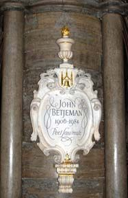 On a pillar in Poets' Corner in Westminster Abbey is a memorial to Sir John Betjeman, Poet Laureate and broadcaster. British Poets, English Poets, Writers And Poets, Victorian Architecture, Westminster Abbey, Picture Video, Marmalade, History, Toast