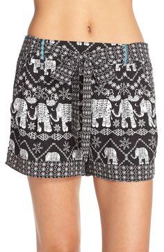 Bollydoll Print Pajama Shorts   Nordstrom
