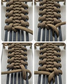 Flat Leather Laces Braided Cord 3mm 72 - Dark Brown 4 Pack Gaucho Goods