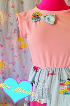 Barbie dress corvette dreamhouse 80s 90s blue by missalphabet
