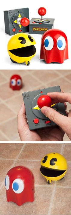 Real life remote controlled Pac-Man > I want one for Xmas. How cool!